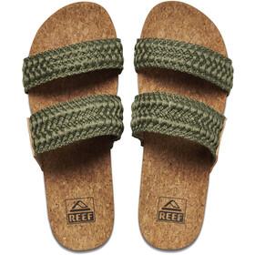 Reef Cushion Vista Thread Sandals Women, Oliva/marrón